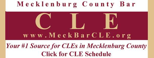 CLE, Continuing Legal Education, Mecklenburg County